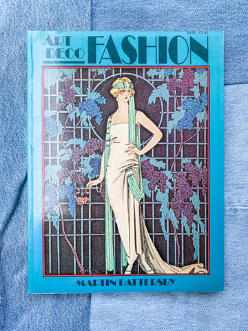 Art Deco Fashion Vintage Book - Vintage Fashion Book