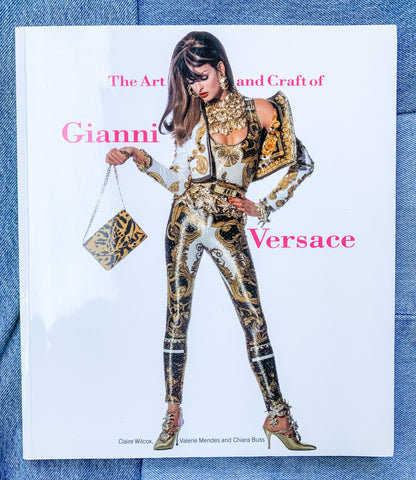 The Art and Craft of Gianni Versace Vintage Fashion Book - My Best Vintage Life Podcast