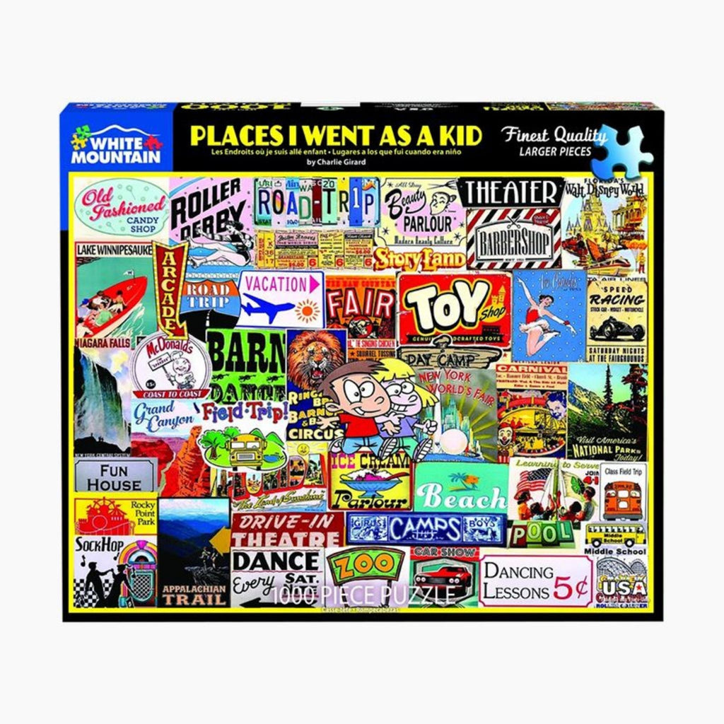 Places I Went as a Kid Puzzle