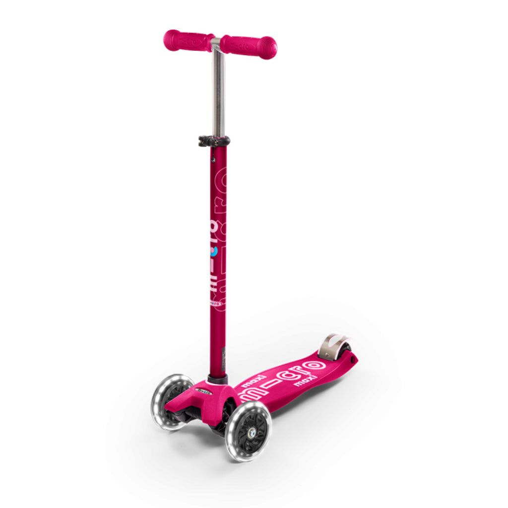 Pink Maxi Deluxe LED Scooter