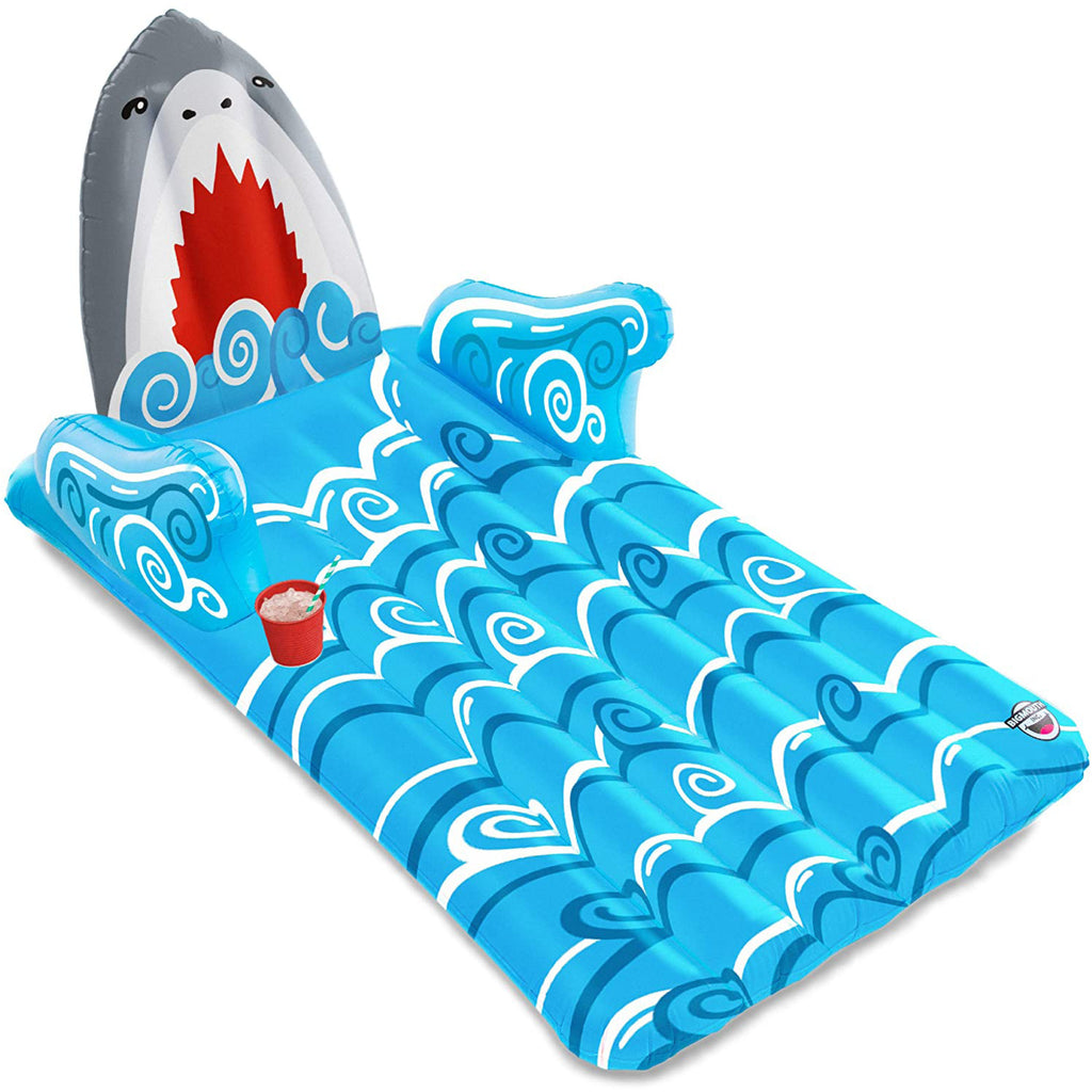 Giant Shark Lounger Pool Float
