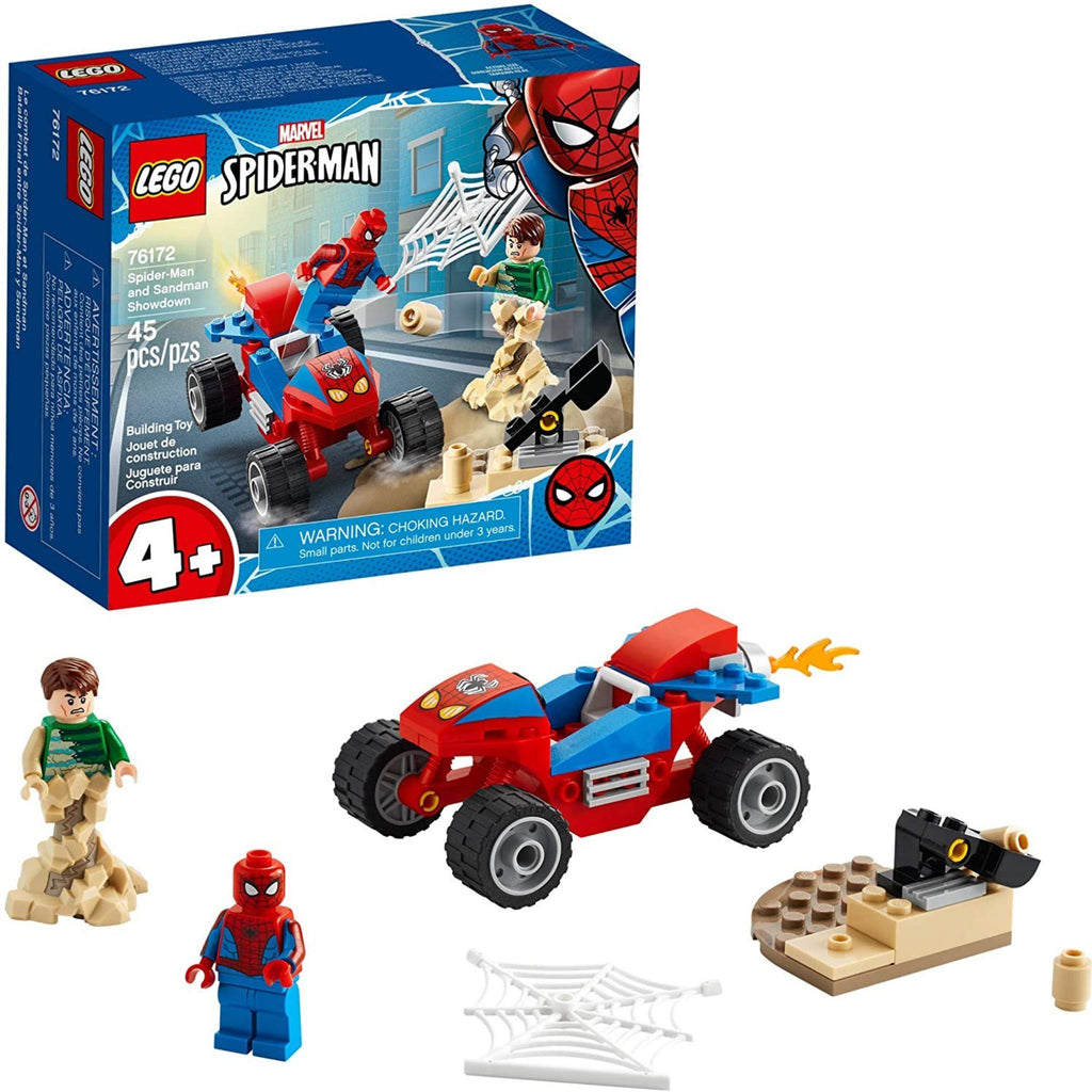 LEGO Marvel Spider-Man and Sandman Showdown