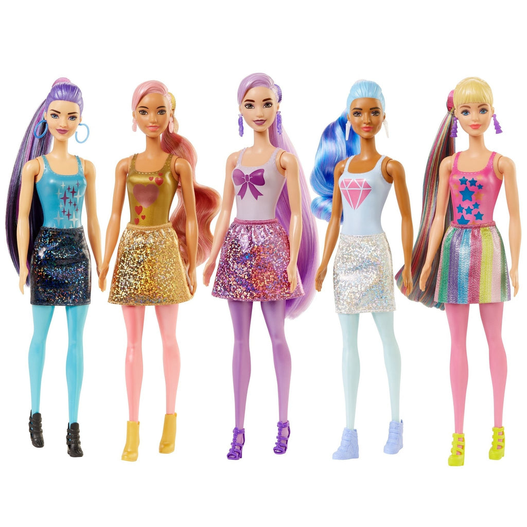 Barbie Color Reveal Doll Shimmer Series