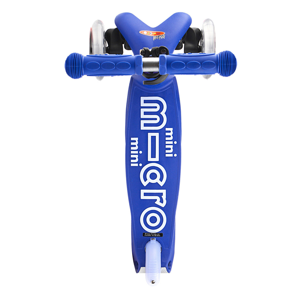 micro kickboard blue mini deluxe scooter