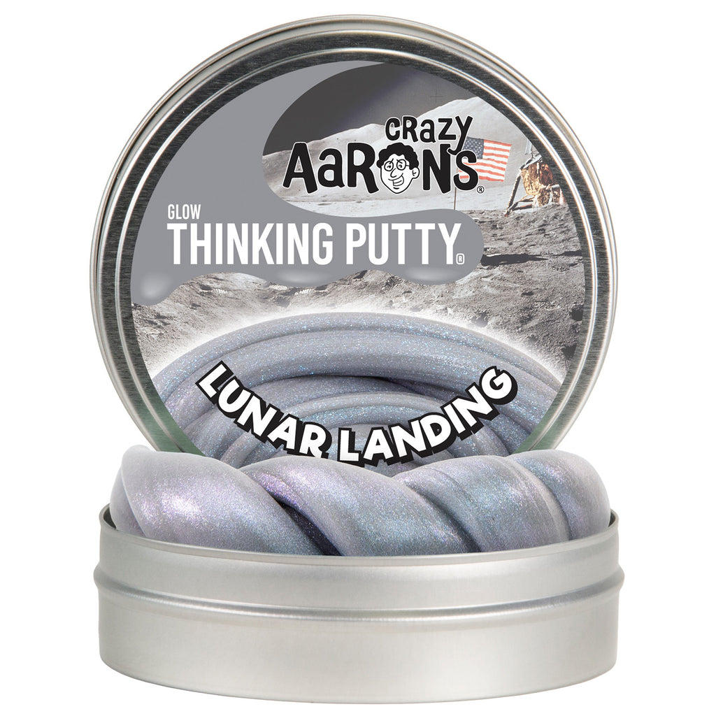 lunar landing thinking putty