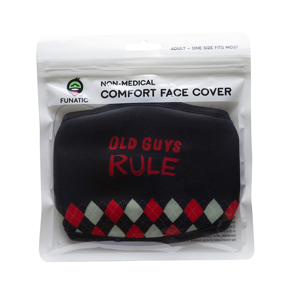Old Guys Rule Face Mask
