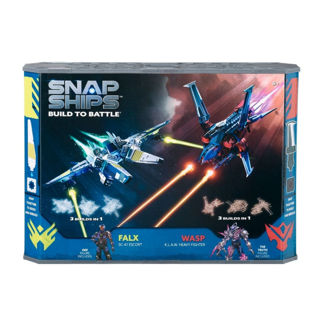 Snap Ships Wasp K.L.A.W. Heavy Fighter / Falx SC-41 Escort Battle Set