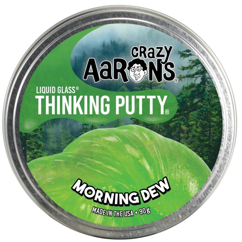 Liquid Glass Morning Dew Thinking Putty