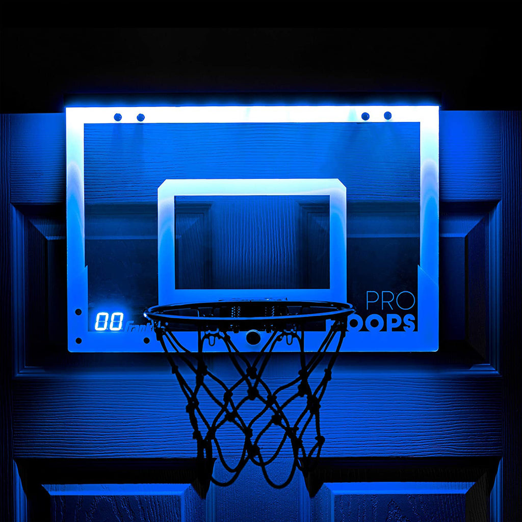 Over the Door LED Basketball Hoop
