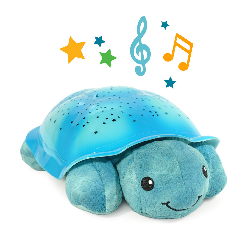 Aqua Twinkling Twilight Turtle