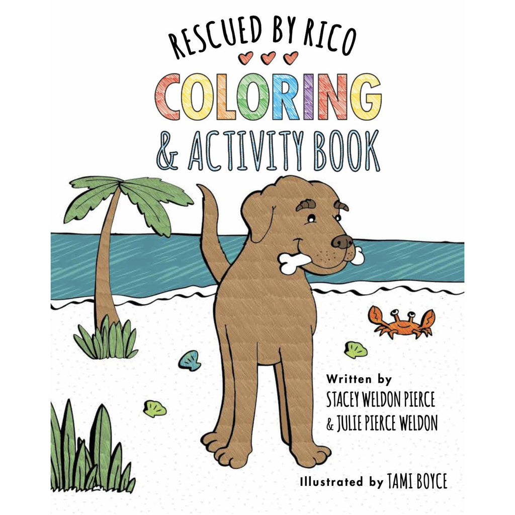 Rescued by Rico Coloring Book