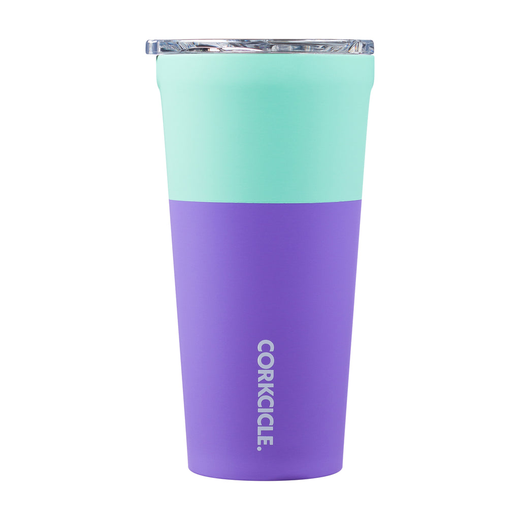 Mint Berry Color Block 16oz Tumbler