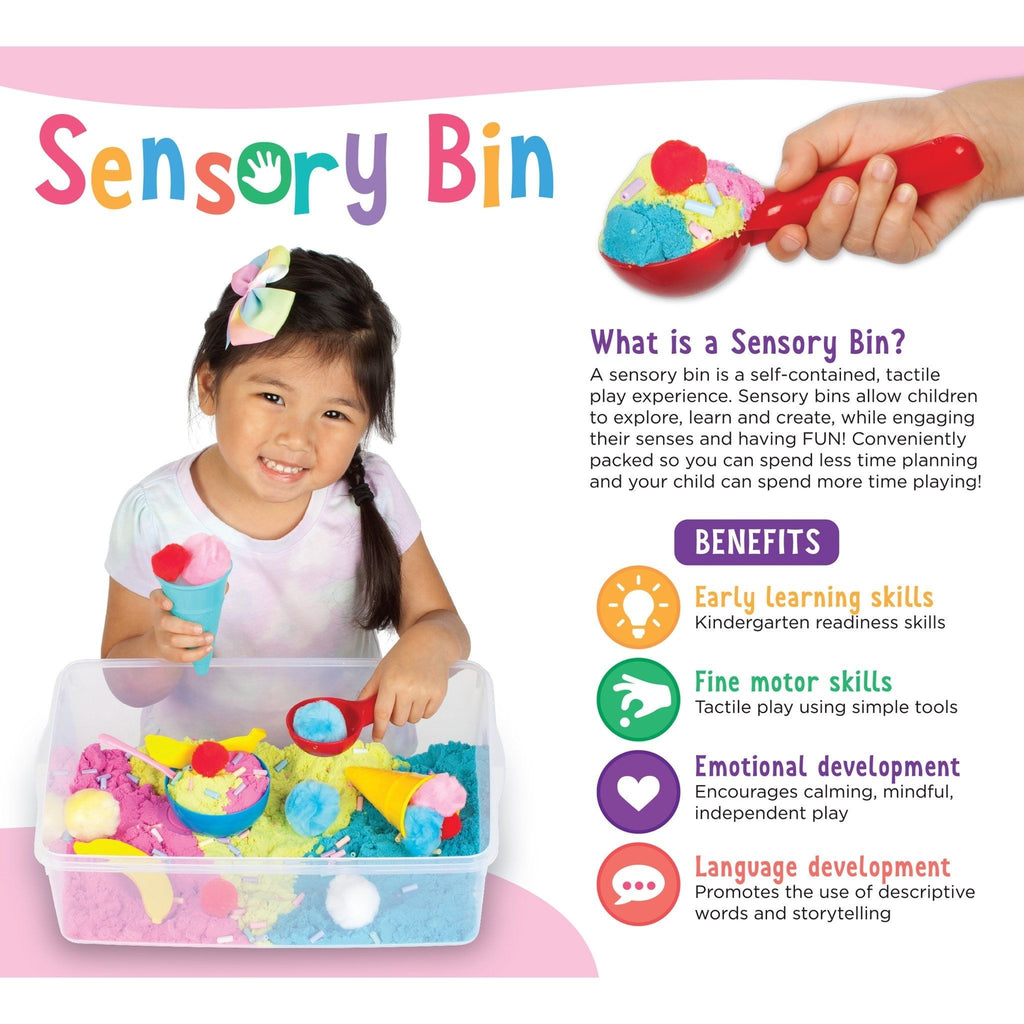 Sensory Bin Ice Cream Shop