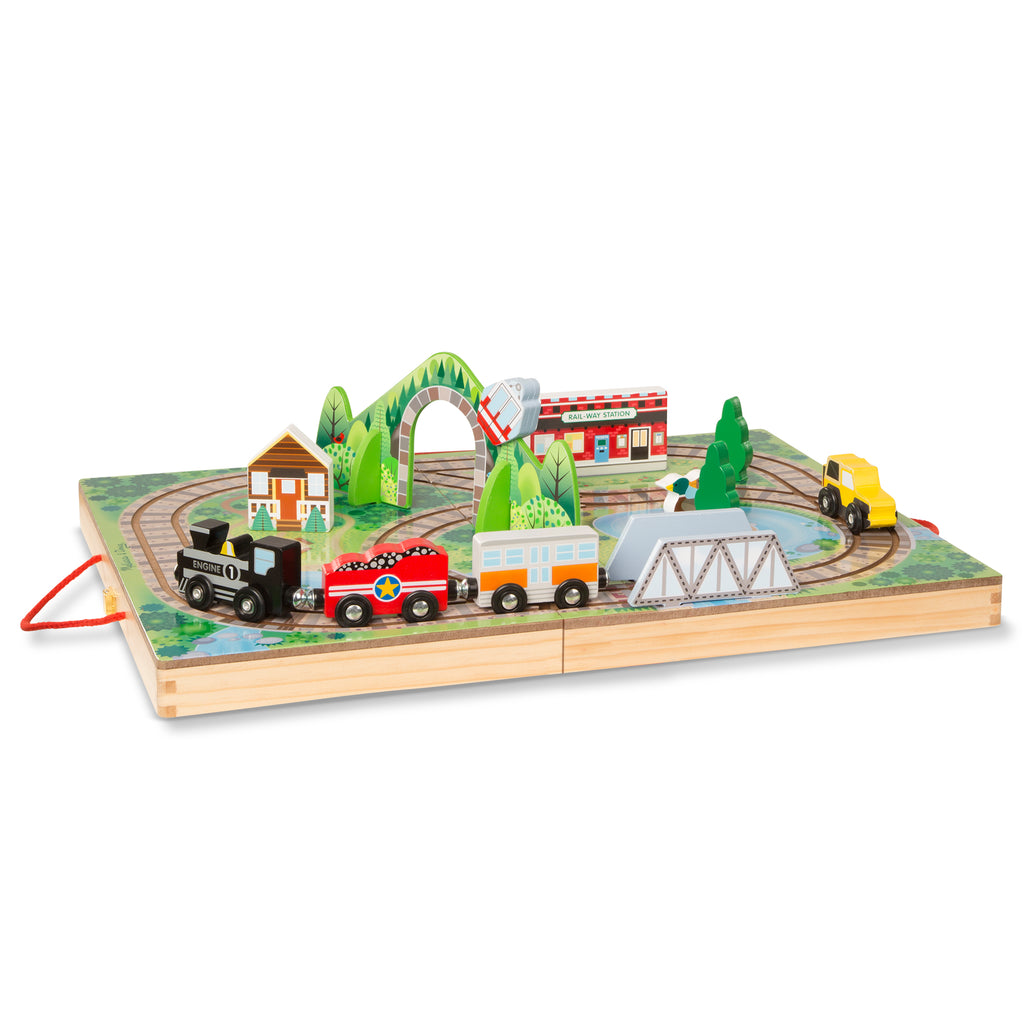 Take-Along Railroad Set