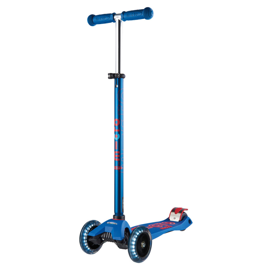 Blue Maxi Deluxe LED Scooter