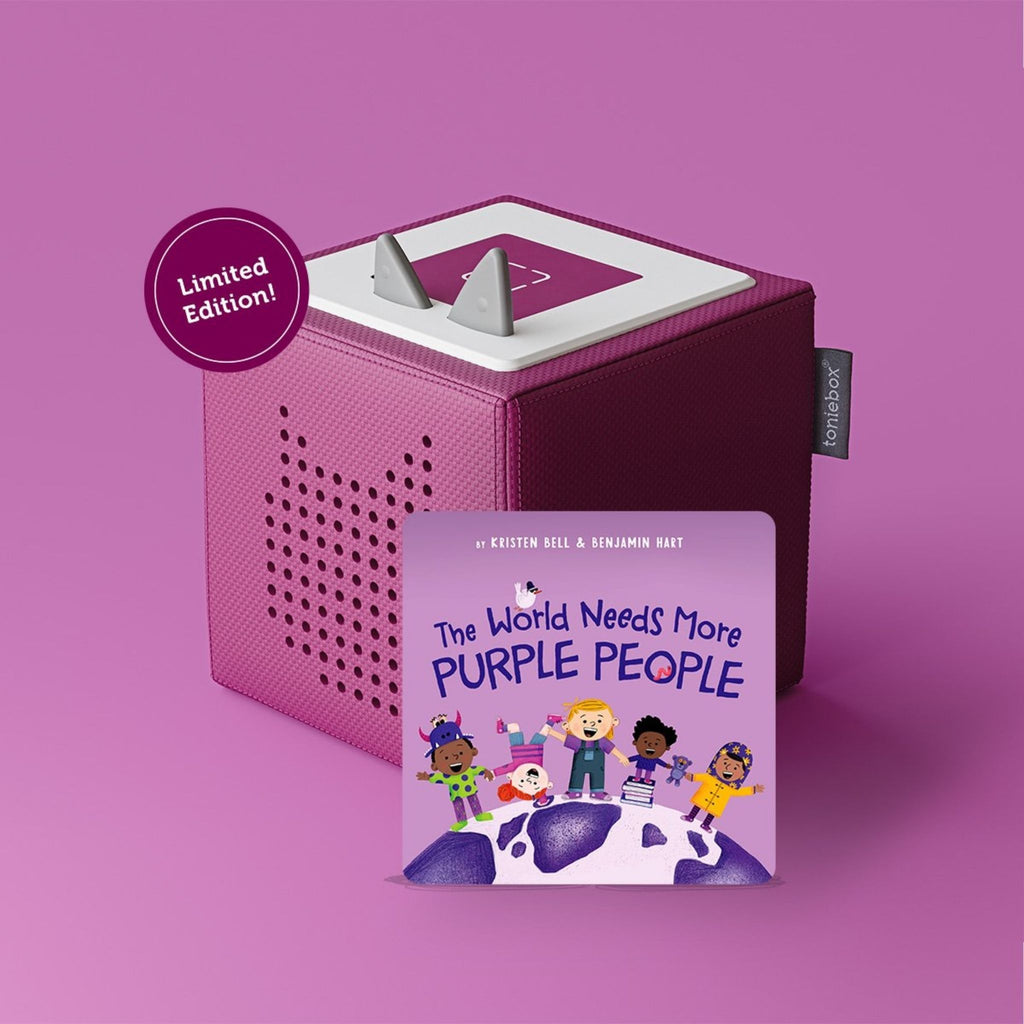Toniebox Starter Set The World Needs More Purple People