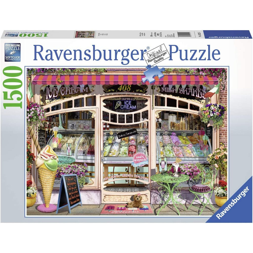 Ice Cream Shop Puzzle