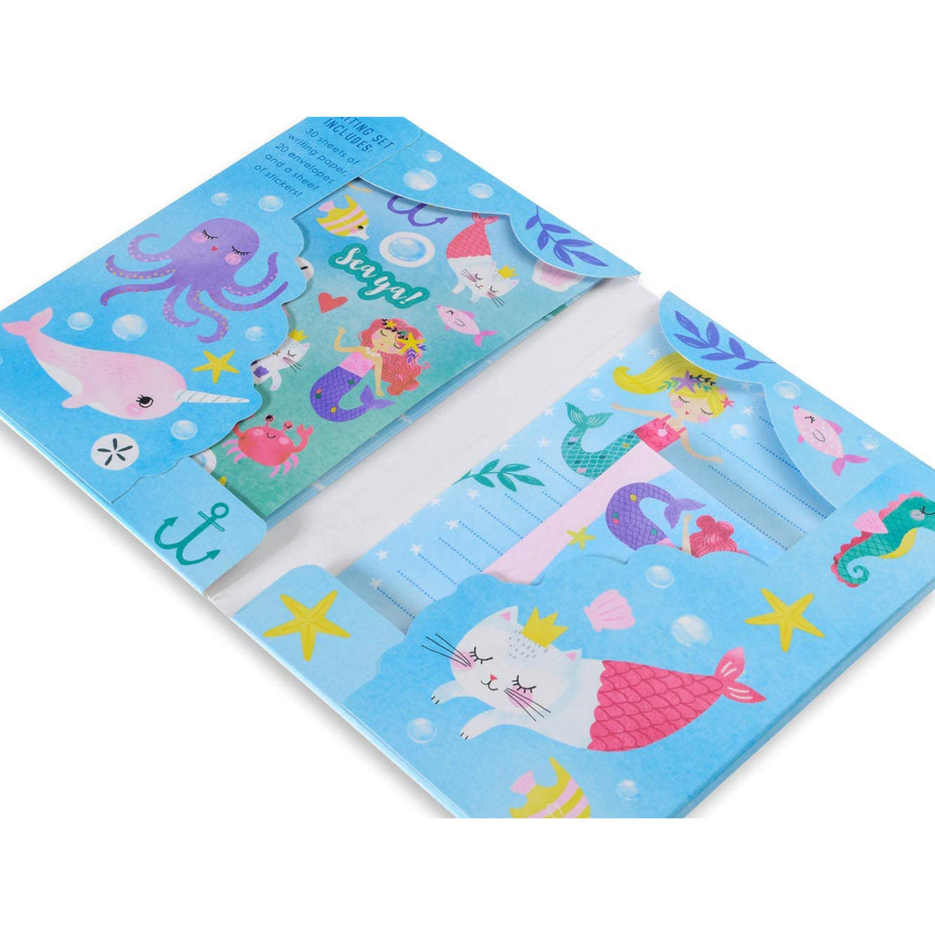Mermaid Stationary Set
