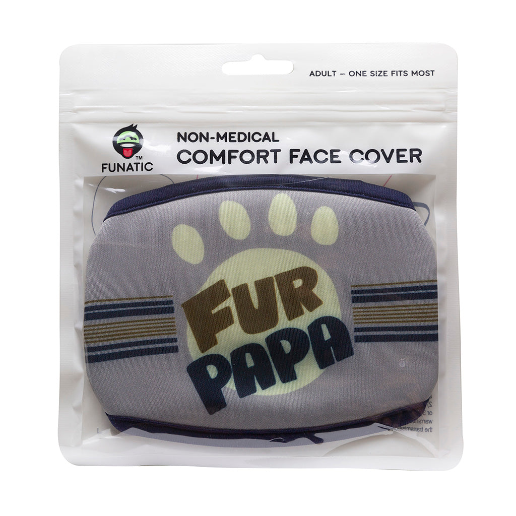 Fur Papa Face Mask