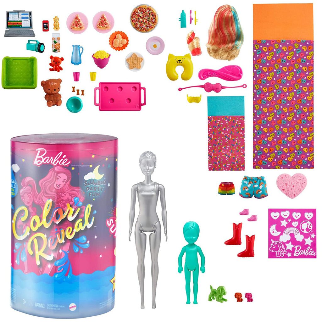 Barbie Color Reveal Slumber Party