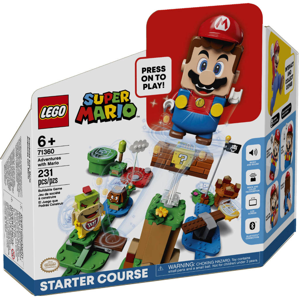 LEGO Super Mario Adventures with Mario Starter Set