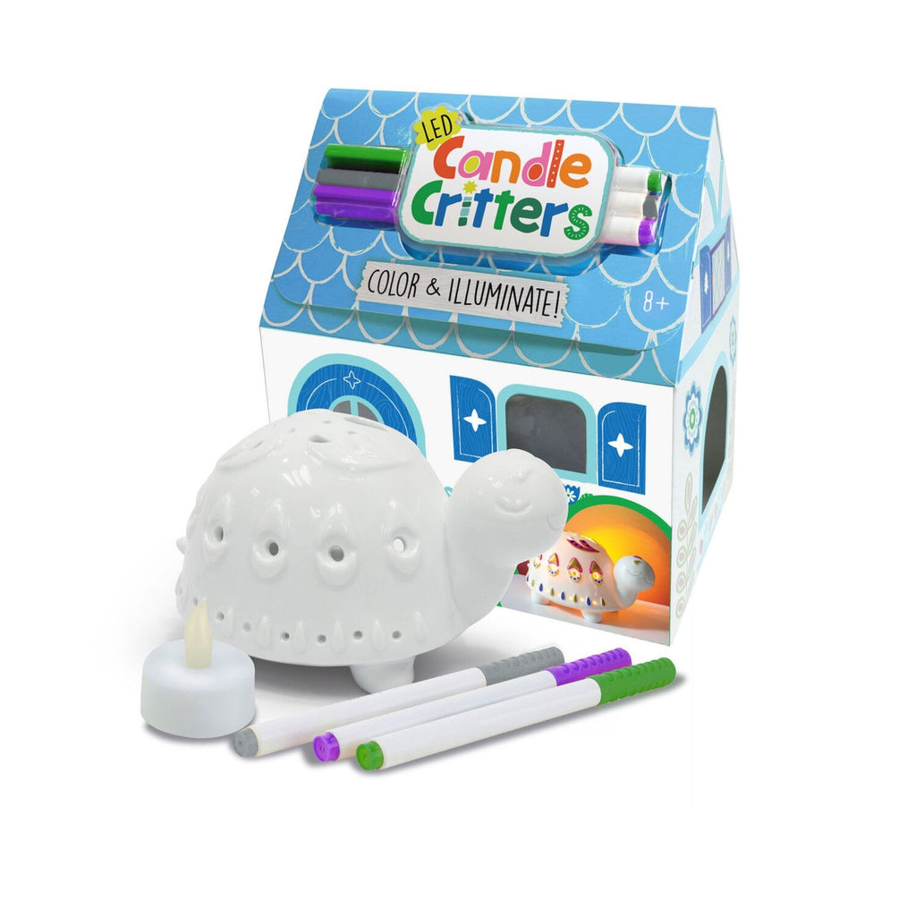 LED Candle Critters Turtle