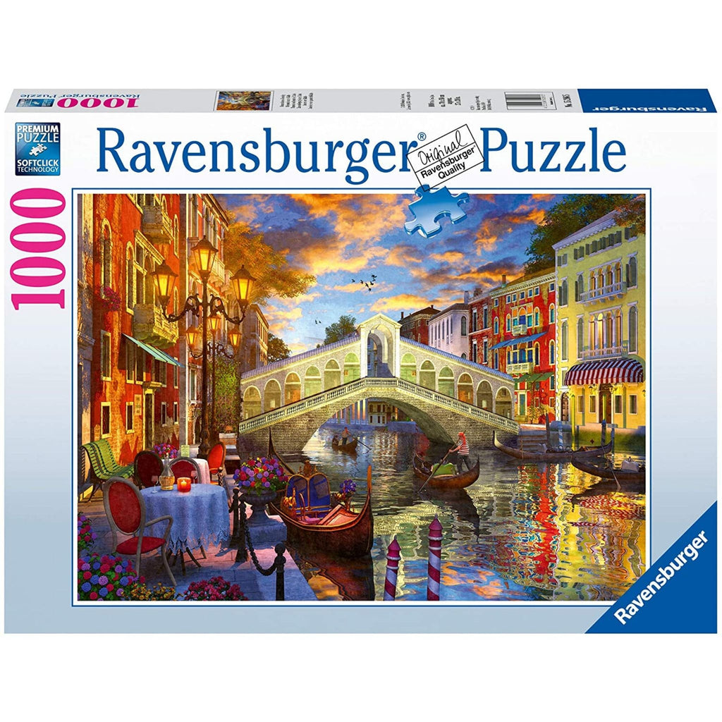 Sunset Over Rialto Puzzle