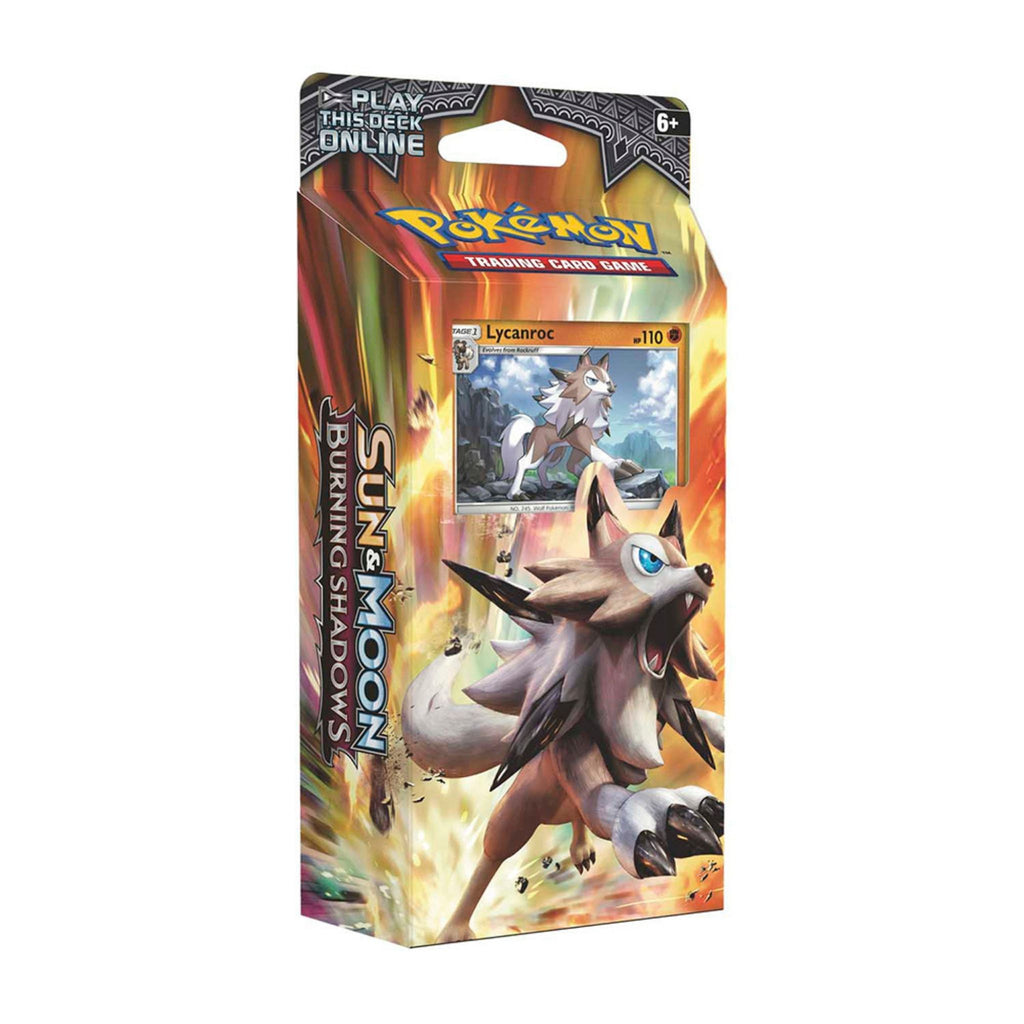 Pokemon Sun & Moon- Burning Shadows Rock Steady Theme Deck