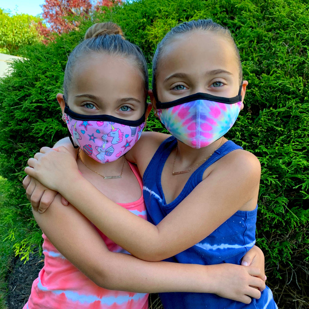 kids reusable face mask size small