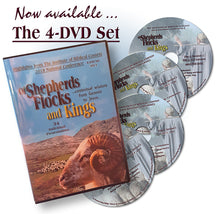 Load image into Gallery viewer, 2018 Shepherds, Flocks and Kings 4 DVD Set