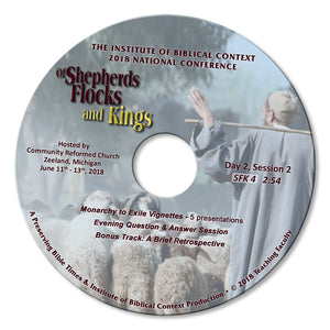 2018 Shepherds, Flocks and Kings 4 DVD Set