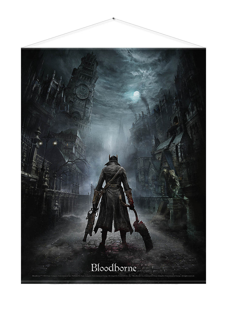 Bloodborne Wall Scroll - Night Street