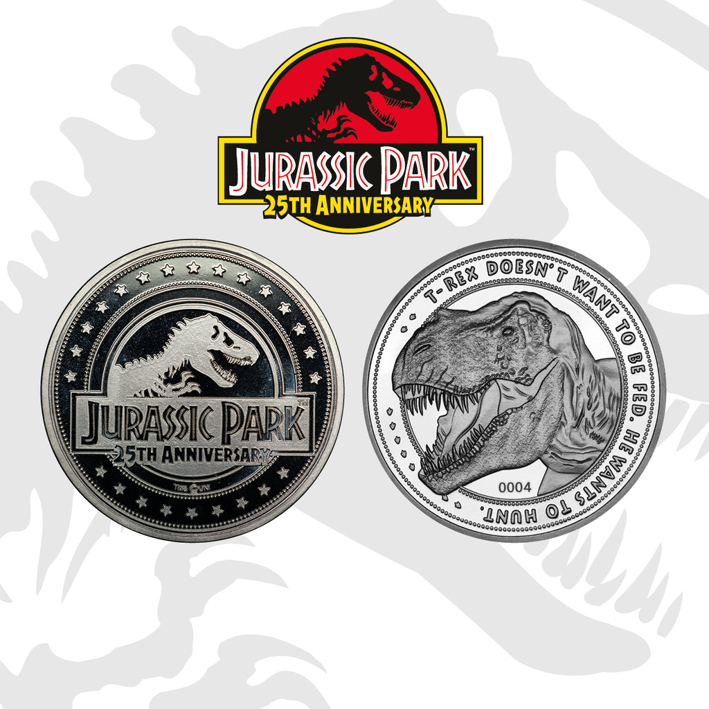 Jurassic Park T-Rex Collectible Coin