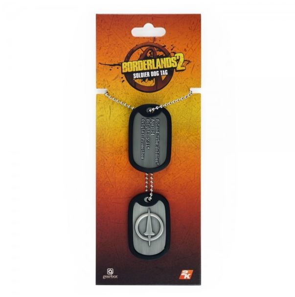 Borderlands - Soldier Dog Tags