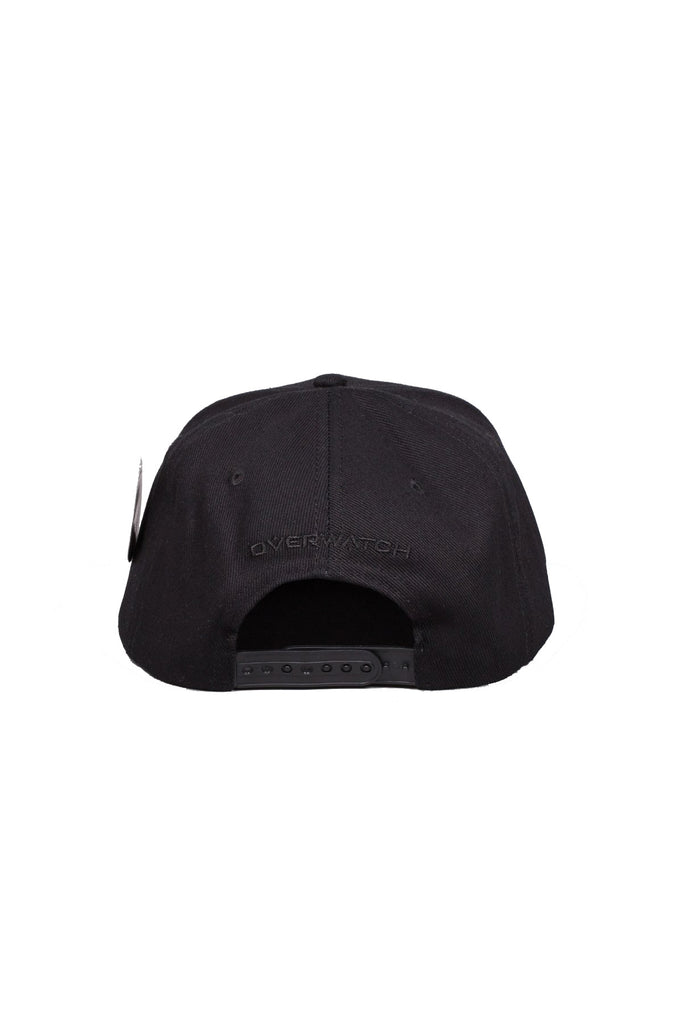 Overwatch All Black Snapback Cap