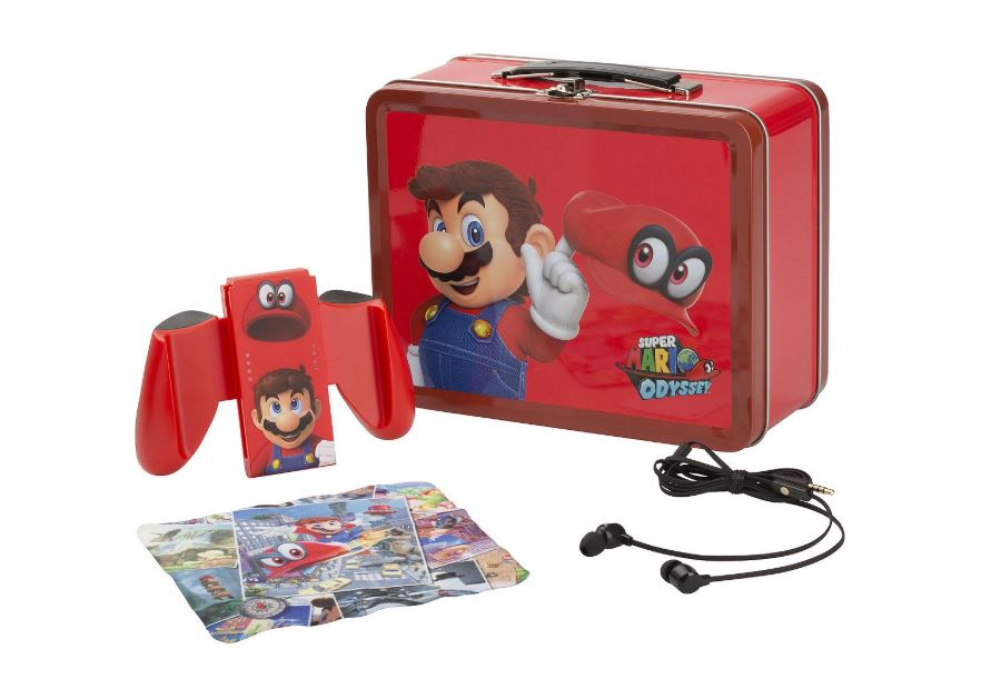 Super Mario Odyssey Nintendo Switch Lunch Box Tin Kit