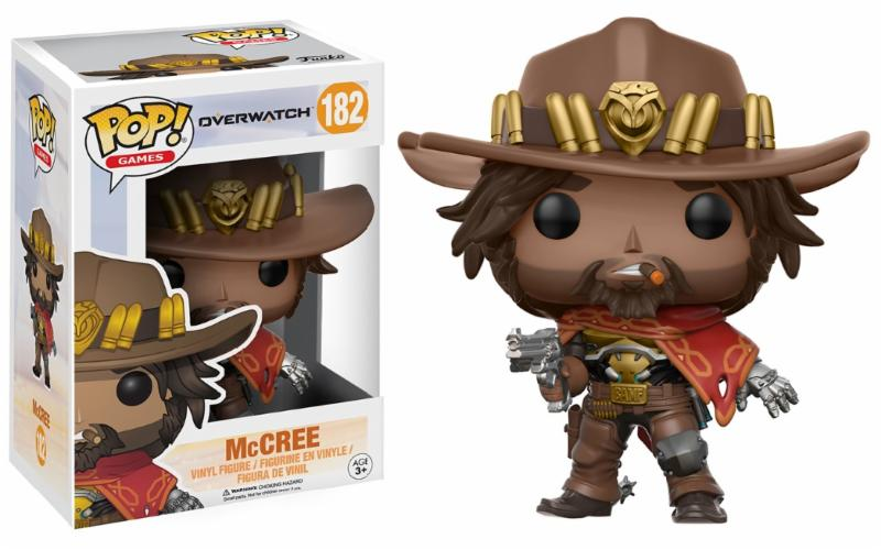 Overwatch - McCree Pop! Vinyl Figure