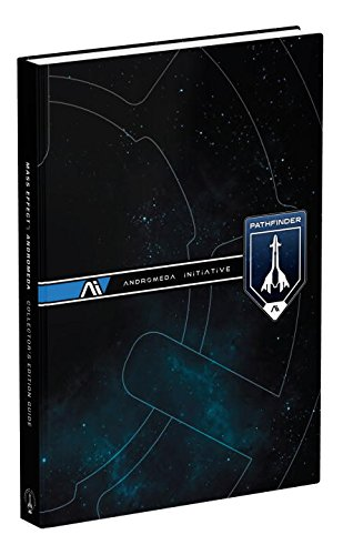 Mass Effect Andromeda Collector's Edition Hardcover Guide