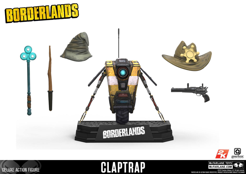 Borderlands Claptrap Deluxe Figure