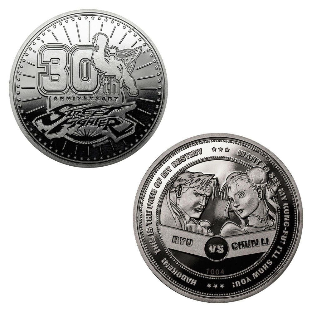 Street Fighter 30th Anniversary Coin
