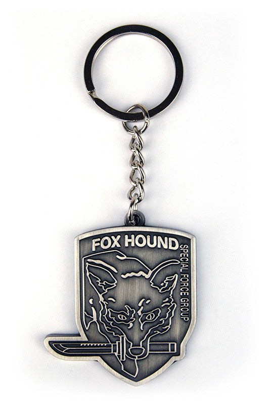 Metal Gear Solid Foxhound Key Ring