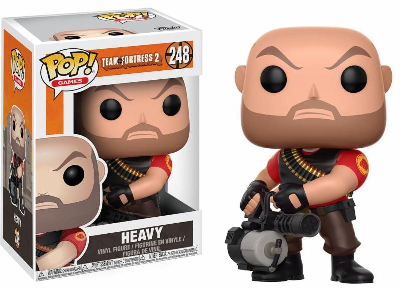 Team Fortress 2 Heavy Pop! Vinyl Figure PREORDER