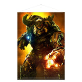 Doom Cyber Demon Wall Scroll