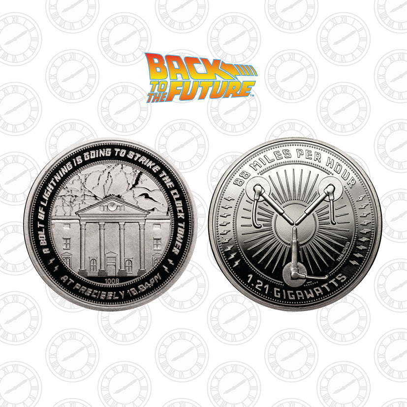 Back to the Future Clock Tower Collectible Coin