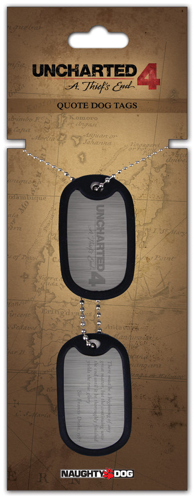 Uncharted Dog Tag