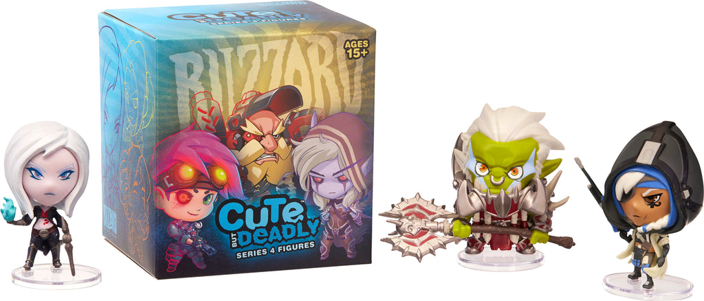 Blizzard Cute But Deadly Series 4 Mystery Figure