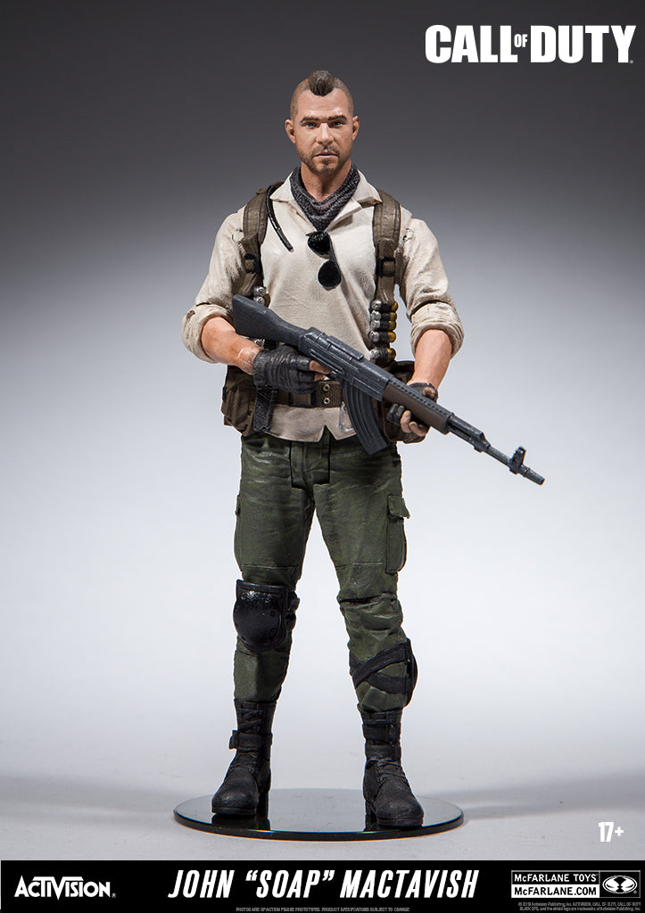 "Call of Duty John ""Soap"" MacTavish 7"" Figure"