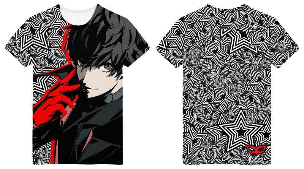 Persona 5 Joker Sublimation Print T-Shirt PREORDER