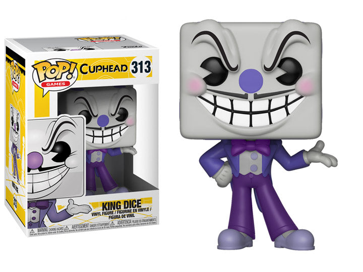 Cuphead King Dice Pop! Vinyl Figure (Possible Chase)