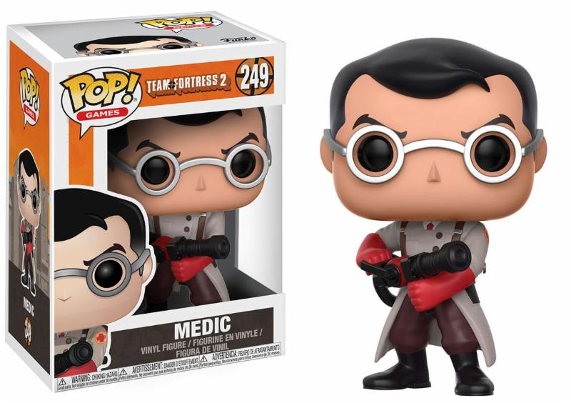 Team Fortress 2 Medic Pop! Vinyl Figure PREORDER